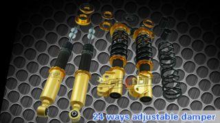 Honda Civic LX EX SI FA5 FG2 FG1 Adjustable coilover Suspension Kit