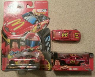 Nascar Bill Elliott 1:64 scale matchbox cars lot