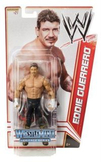 WWE Eddie Guerrero Wrestlemania Mattel Action Figure