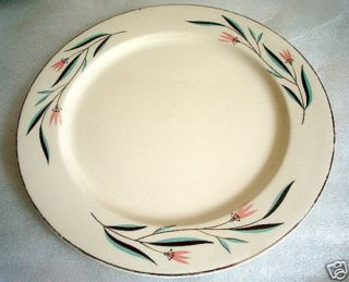 Edwin Knowles China Carlton Pattern Dinner Plate