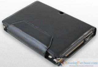 Asus Eee Pad TF101 Triple Leather Case Cover Holder New