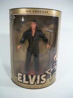 Hasbro Elvis Presley 68 Special Elvis Doll COA Numbered 12 Tall