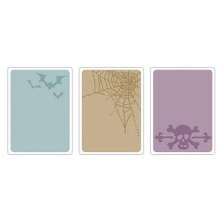 Spooky Things Set Texture Fades Trades Embossing Folders 657464