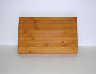 Emeril Lagasse Bamboo Cutting Board Demensions 14 ½ x 9 inches Unused