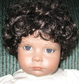 Handcrafted African American Posie Doll REDUCED 3TIMES