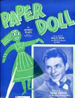 paper doll by johnny black original c r 1930 by edward