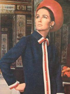Paris Original Sewing Pattern 2222 Molyneux Princess Coat Dress