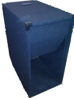Empty 15 Bass Folded Horn PA Speaker Cabinet
