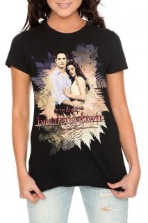 Twilight Saga Breaking Dawn Edward Bella T Shirt Juniors XS New