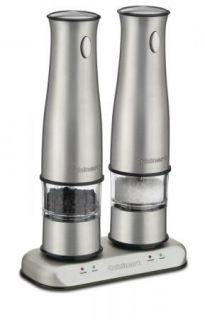 Sal Pepper Shaker Elecric Pepper Grinder Mill Machine Rechargeable