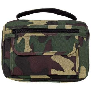Embassy™ Army Green Camo Camouflage Book Bible Cover