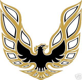 Firebird Trans Am Bird Hood Decal Decal 2 Color Pontiac