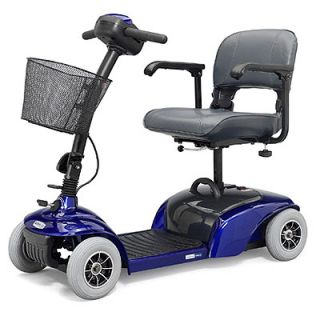blue electric handicap mobility medical cart scooter blue electric