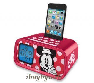 Kiddesigns Ekids DM H22 Disney Kids Minnie Mouse Alarm Clock iPod