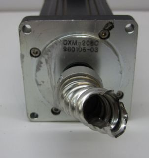 EMERSON SERVO MOTOR DXM 208C REV. A4 w/ STUCK SHAFT CONNECTOR
