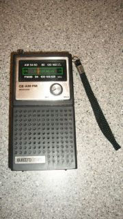 ELECTROBRAND ELECTRO BRAND VINTAGE AM FM CB TRANSISTOR PORTABLE RADIO