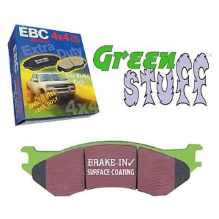 EBC Brake Pads Greenstuff 7000 Series Organic Front Dodge RAM 1500