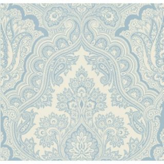 Brewster Home Fashions Echo Design Paisley Wallpaper in Carolina Blue