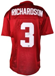 Trent Richardson Autographed Alabama Crimson Tide Jersey GA Certified