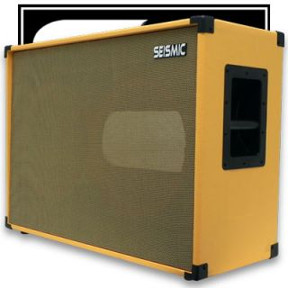 212 Empty Guitar Speaker Cabinet Cab 2x12 Orange Tolex