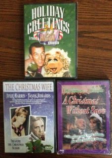 Holiday DVDs Christmas Wife Christmas Without Snow Ed Sullivan