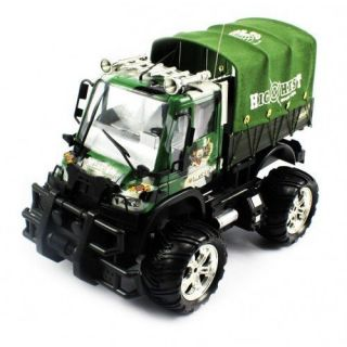 Electric Full Function Military Rescue Convoy RTR RC Truck Remote