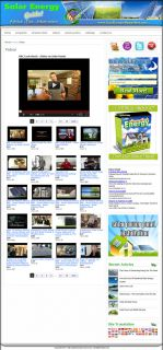 Established Solar Energy Website for Sale Websites by SITEGAP