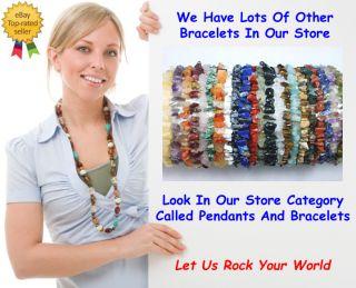 Carnelian Stretch Bracelet Stone Beads Chips Crystal Healing Chakra