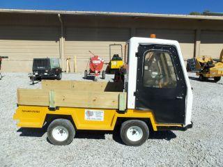 Electric Truck, Taylor Dunn, Golf Cart, Industrial Cart