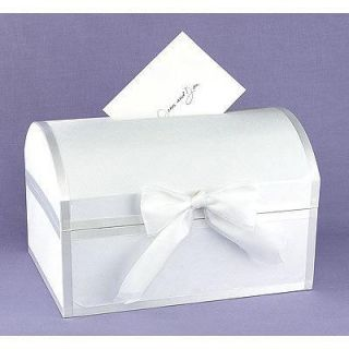 Satin Wedding Greeting Card Treasure Chest Box