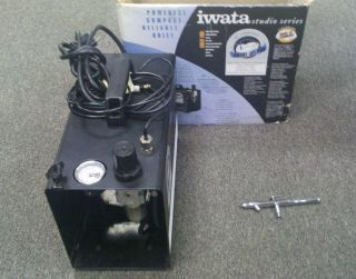 Iwata Is 875 Air Compressor Airbrush Smart Jet Pro