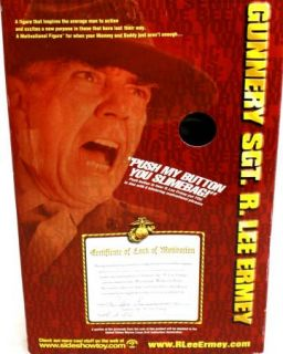 New Gunnery SGT. R. Lee Ermey 12 Talking Motivational Figure Doll