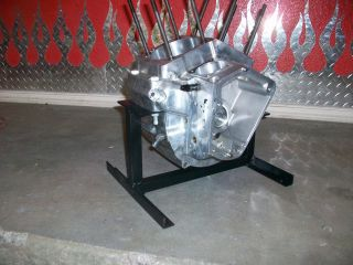 NEW HARLEY DAVIDSON BIGTWIN ENGINE STAND EVO PANHEAD SHOVELHEAD BOBBER