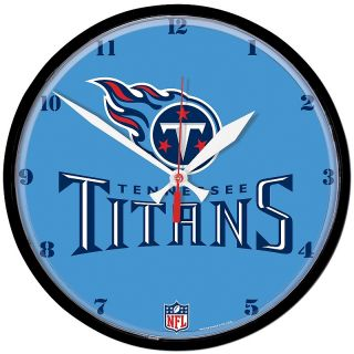 Pro Football Fan Tennessee NFL Team 12 3/4 Round Clock   Titans