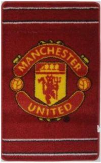 Manchester United Manu Crest Rug Floor Bedroom Decor BN
