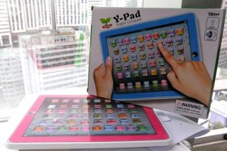 Pad English Children Language Learning Touch Screen Tablet Toy for