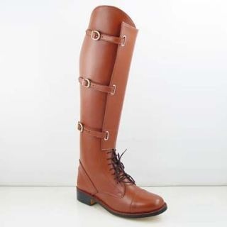 CF Ladies Buckle English Horse Riding Field Boots