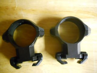 Millett Angle Loc Engraved 1 Scope Rings Black