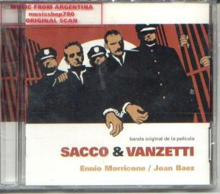 ENNIO MORRICONE / JOAN BAEZ, SACCO & VANZETTI   ORIGINAL SOUNDTRACK