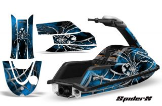 YAMAHA SUPERJET JET SKI GRAPHICS KIT JETSKI DECALS SPIDERX SXLBL