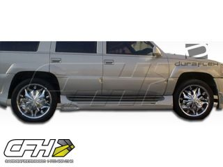 FRP 99 01 Cadillac Escalade 99 00 GMC Denali Platinum Side Skirts Kit