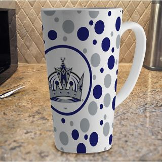 dupe of http//www./sports/16 oz polka dot latte mug with team
