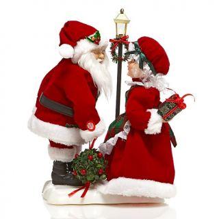 Winter Lane 20 Animated Kissing Santa and Mrs. Claus
