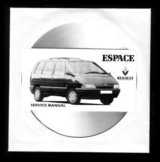 Renault Espace II Manual de Taller Workshop Manual Manuel Reparation