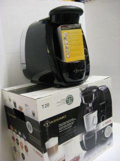 TASSIMO T20 Coffee Maker 1 Cup Cappucinno Espresso Latte Mocha Machine