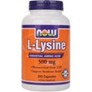 Now Foods L Lysine Essential Amino Acid 500 MG 250 Caps