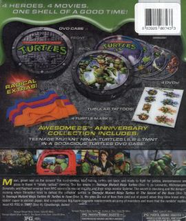 Teenage Mutant Ninja Turtles 25th Anniversary New DVD