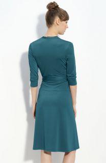 Eliza J Faux Wrap Jersey Dress Kate Middleton 12 $128