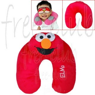 Sesame Street Elmo U Shape Travel Neck Rest Pillow