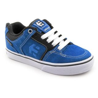 Etnies Kids Sheckler 6 Youth Kids Boys Size 3 Blue Regular Suede Skate